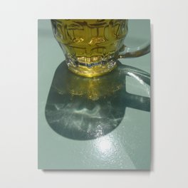 Beer glass- Hydra Metal Print