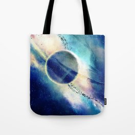 Let's Meet at the End of Universe Tote Bag