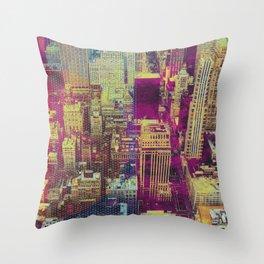 Pop New York Throw Pillow