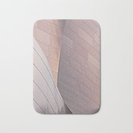 Sunrise architectural abstract of the LA Phil designed by Frank Gehry Bath Mat