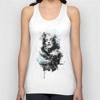 marilyn Tank Tops featuring Marilyn. by Emiliano Morciano (Ateyo)
