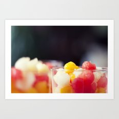 Summers vitamins Art Print