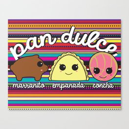 Pan Dulce Canvas Print