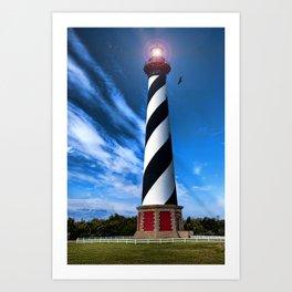Cape Hatteras Light Art Print