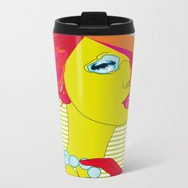 The Green Girl Metal Travel Mug