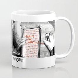 Across the Margin Coffee Mug