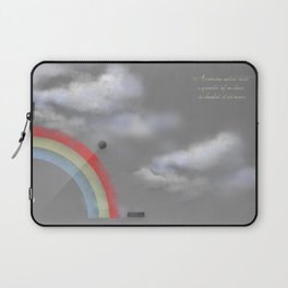 A quarter rainbow Laptop Sleeve