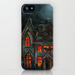 Haunted House iPhone Case