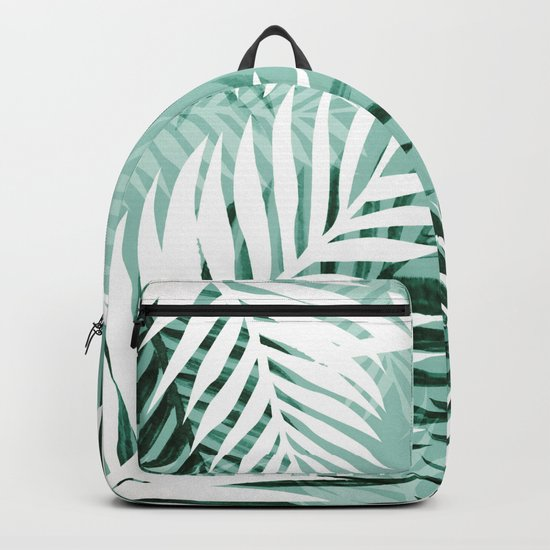 Tropical bliss - jungle green Backpack