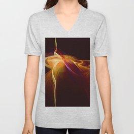 Molten Lava Flow Unisex V-Neck