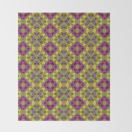 Flower Child Diamonds Throw Blanket