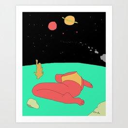 Space Bum Art Print