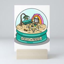 Pursuit of Paradise Mini Art Print