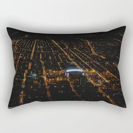 United Center: A Standout Arena (Chicago Architecture Collection) Rectangular Pillow