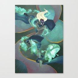 The Dreamteller of Sleepwalkers Canvas Print