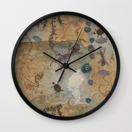 The Land that Time forgot Wall Clock