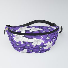 Ultra Violet Garden Fanny Pack