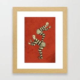 Macho Twins Framed Art Print