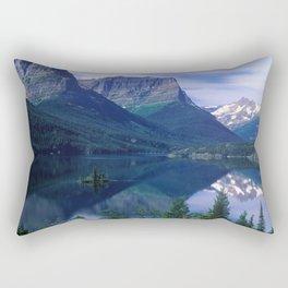 Montana Mountains Rectangular Pillow