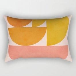 Abstraction_Summer_Color_Minimalism_001 Rectangular Pillow