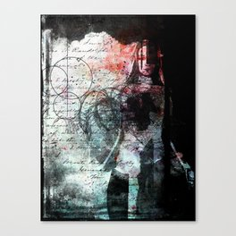 The Writing on the Wall Canvas Print
