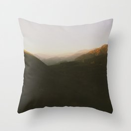 Angeles National Park View  Throw Pillow