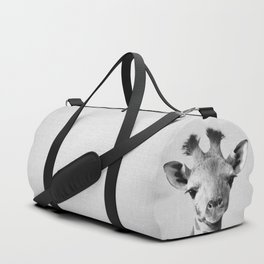 Baby Giraffe - Black & White Duffle Bag