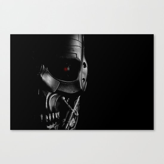 Endoskeleton Canvas Print