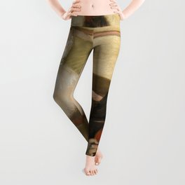 "Edgar Degas ""The Dance Lesson"" Leggings"