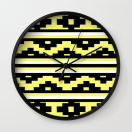 Etnico Yellow version Wall Clock