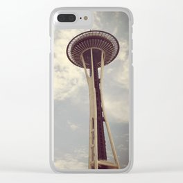 Summer in Seattle Clear iPhone Case