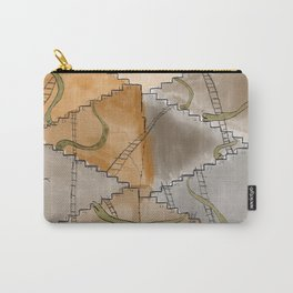 Snakes and Ladders Carry-All Pouch