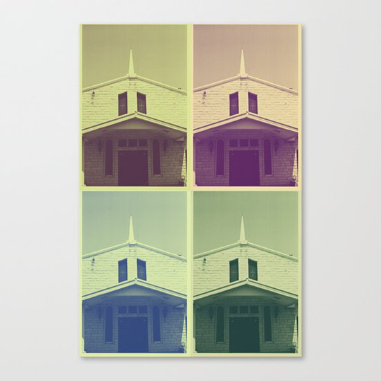 Same Shit, Different Deity Canvas Print