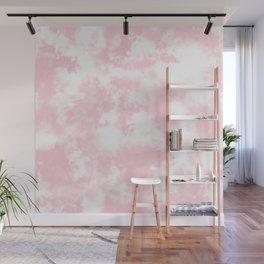 Pink Tie Dye & Batik Wall Mural