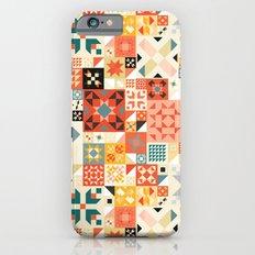 Modern Quilt Pattern iPhone 6 Slim Case