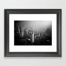 What is to come:  We have been warned  Framed Art Print