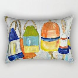 Lobster Buoys Rectangular Pillow