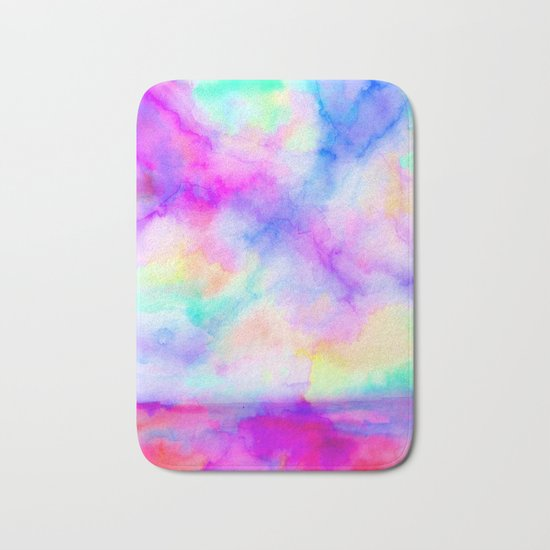 The Calm and The Storm Bath Mat