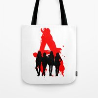 pretty little liars Tote Bags featuring A's Liars by Lindsay6Link