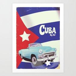 Cuba by Air Art Print