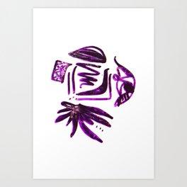 ääääähh... Art Print