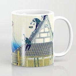 Mt,FUJI36view-Mitsui Shopping Street - Katsushika Hokusai Coffee Mug
