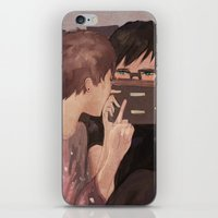 danisnotonfire iPhone & iPod Skins featuring DAN AND PHIL GAMES by Alliandoalice