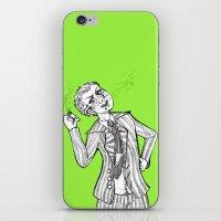 dangan ronpa iPhone & iPod Skins featuring kuzuryuu by Mottinthepot