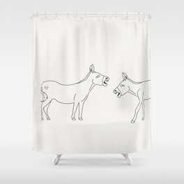 Laughing My Ass Off Shower Curtain