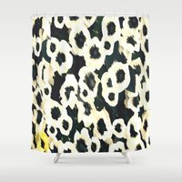 mercedes Shower Curtains featuring MAGNOLIA DREAMS by Chrisb Marquez