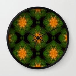 Wreaths of Love.... Wall Clock