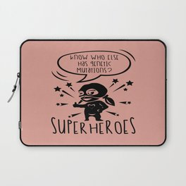 Autism Is My Superpower Awareness Day Support Gift Laptop Sleeve
