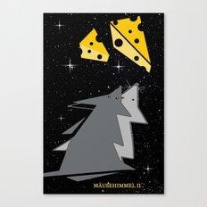 Mäusehimmel 2. Canvas Print