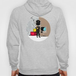 Check your head out - Collage Hoody
